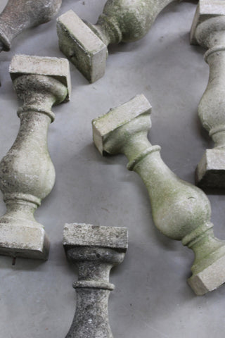 Weathered Concrete Balusters