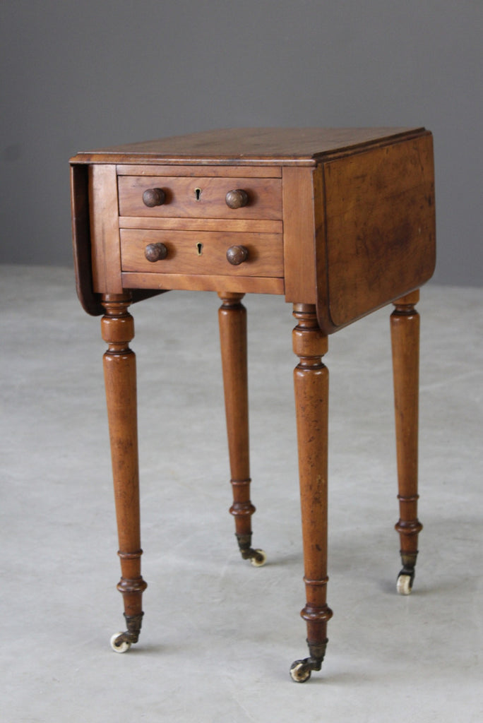 Antique Mahogany Work Table