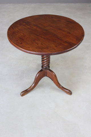 Round Supper Occasional Table