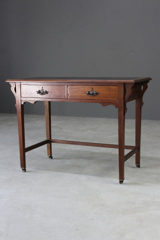 Edwardian Mahogany Side Table - Kernow Furniture