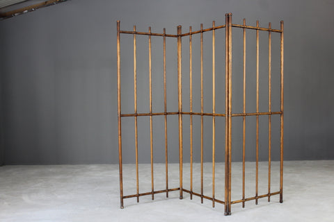 Early 20th Century Oak Screen