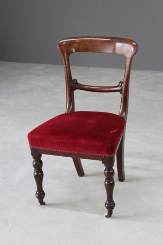 Single Victorian Bar Back Dining Chair