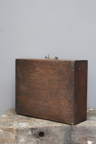 Early 20th Century Wooden Case