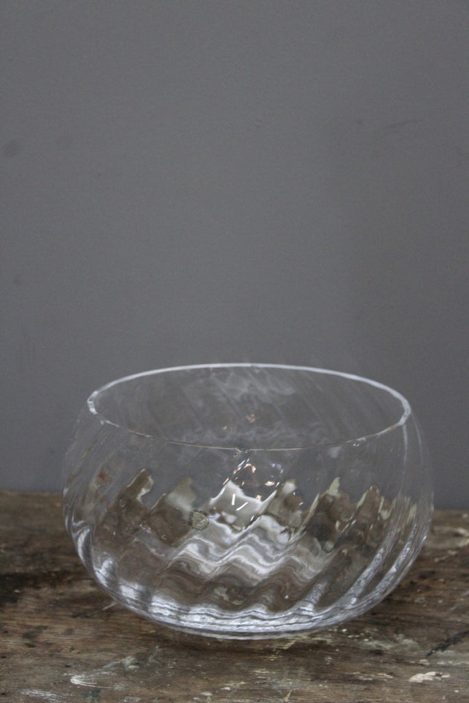 Large Dartington Glass Bowl