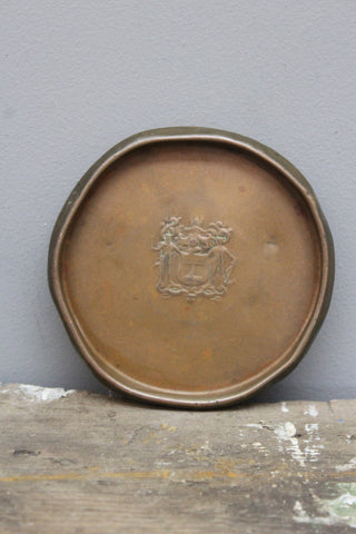 Shirley Avis & Co Copper Coaster
