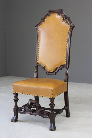Single Carolean Style Side Chair