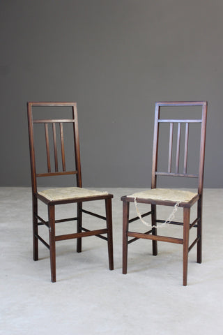 Pair Vintage Occasional Chairs - Kernow Furniture