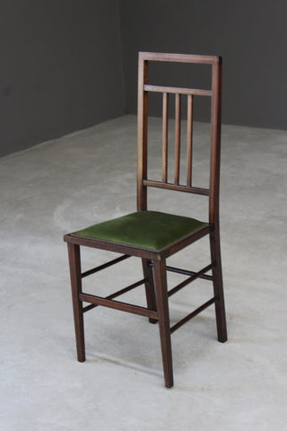 Single Edwardian Occasional Chair