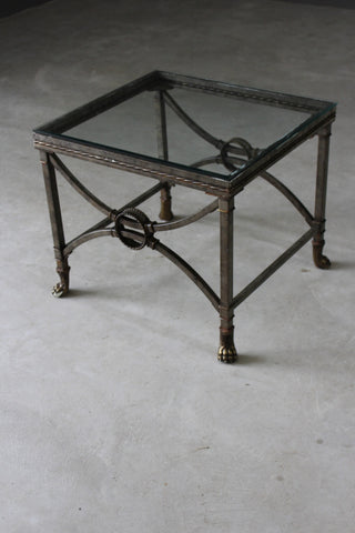 Italian Style Square Coffee Table