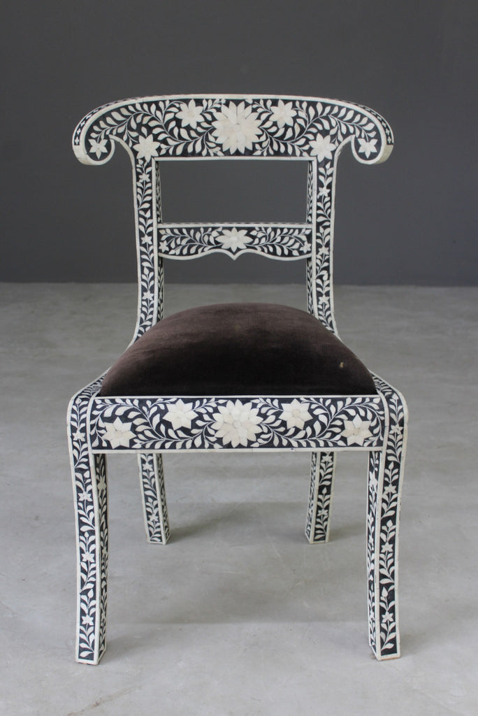 Eastern Bone Inlaid Chair