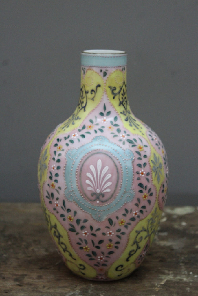 Opaque Glass Vase - Kernow Furniture