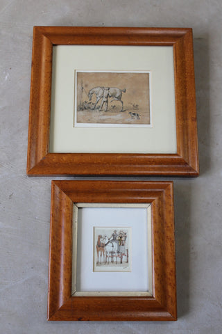 Alfred Beaumont Pen & Ink Drawings Paintings