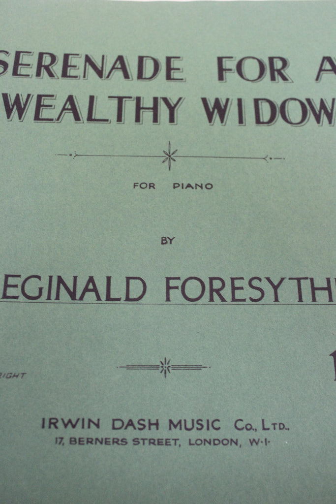 Vintage Sheet Music - Kernow Furniture