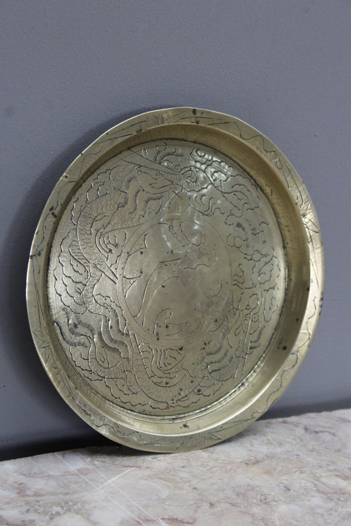 Eastern Brass Decorative Tray - Kernow Furniture