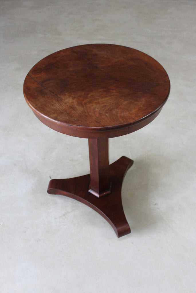 Antique Mahogany Side Table - Kernow Furniture