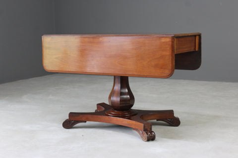 Antique Mahogany Drop Leaf Table