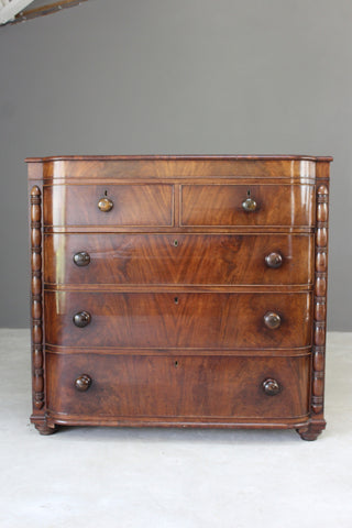 Antique 19th Century Mahogany Chest of Drawers