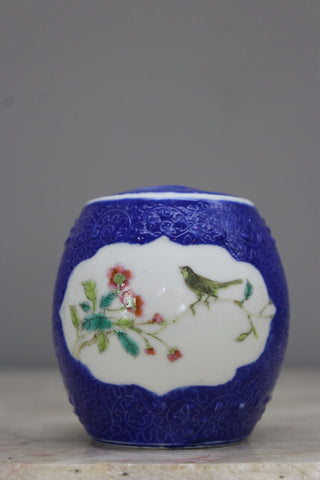 Blue & White Oriental Pot