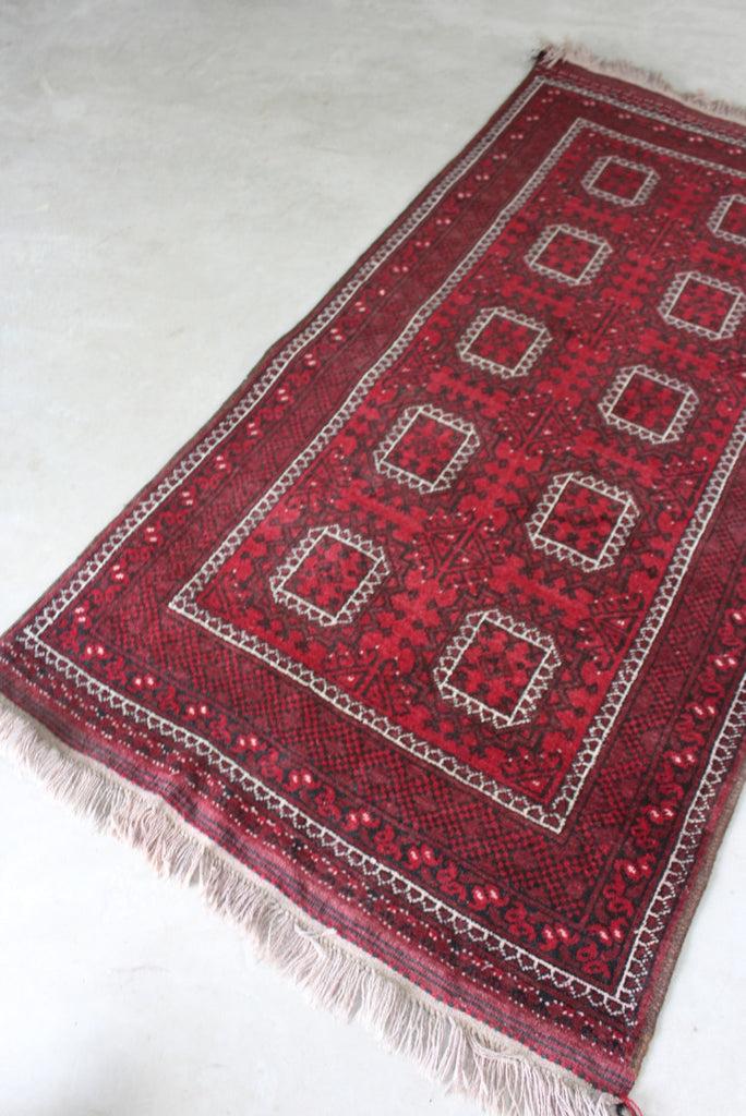 Red Bokhara Rug - Kernow Furniture