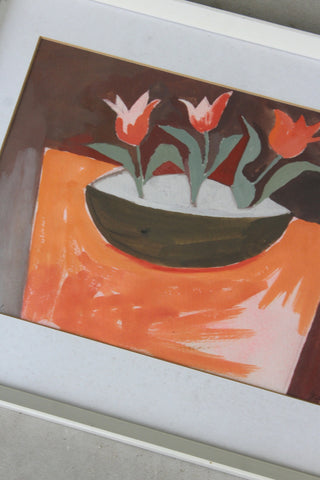 Tulips In Bowl - Adrian Campbell