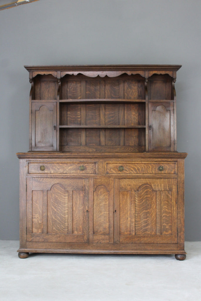 20th Century Oak Dresser - Kernow Furniture