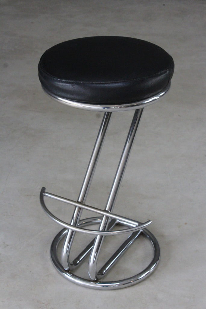 Swell 3 Deco Style Chrome Leather Bar Stools Pdpeps Interior Chair Design Pdpepsorg