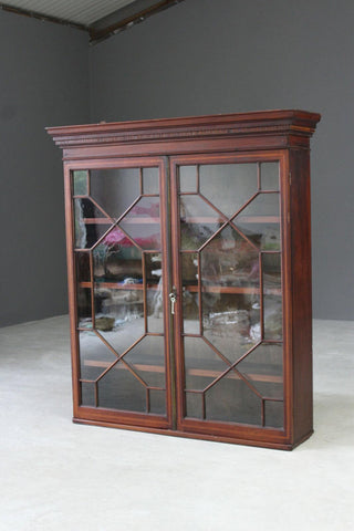 Antique Astragal Glazed Cabinet