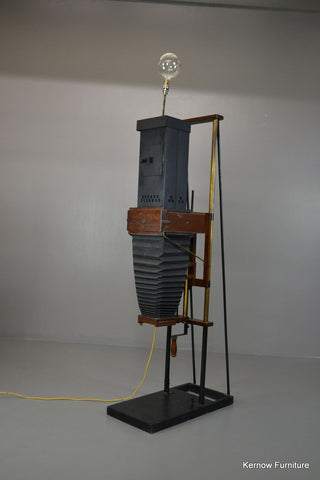 Antique Converted Photo Enlarger Lamp - Kernow Furniture 100s vintage, retro & antique items in stock