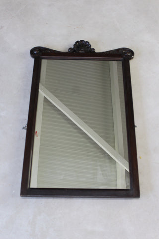 antique mirrors ebonised wooden frame