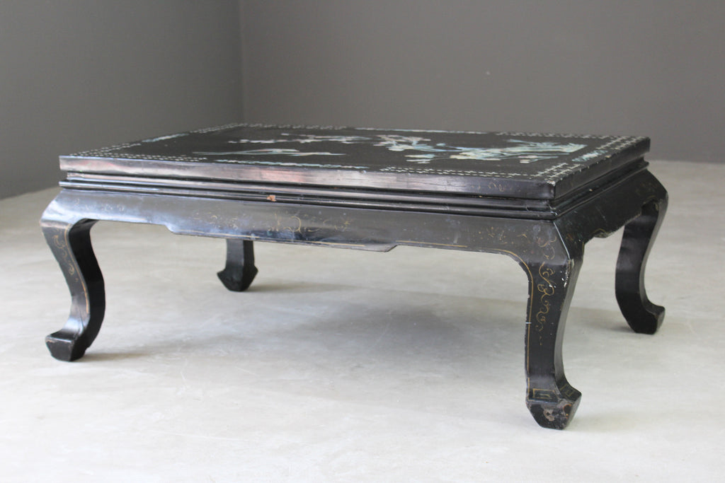 Oriental Style Large Coffee Table