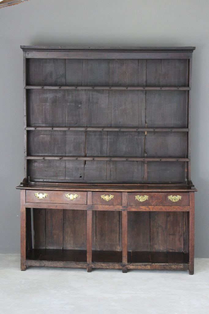 Antique George III Oak Dresser - Kernow Furniture