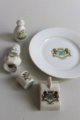 plymouth crestware china