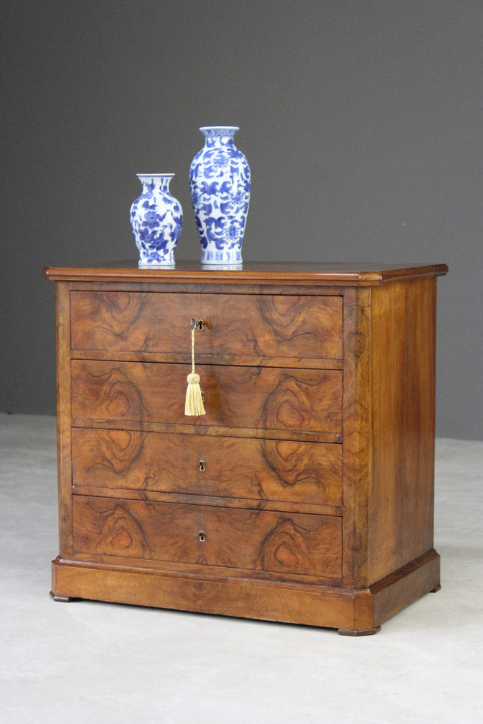German Biedermeier Chest of Drawers - Kernow Furniture