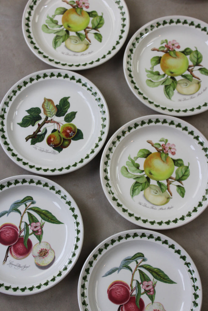 portmeirion apple harvest pamona plates