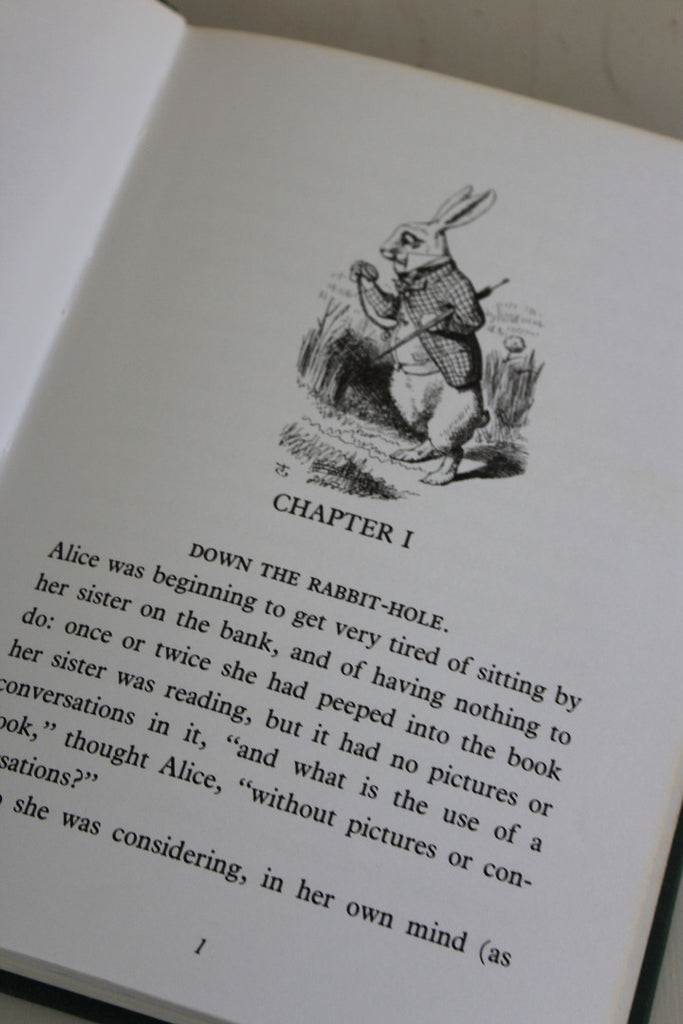 Alice In Wonderland Hard Back Book
