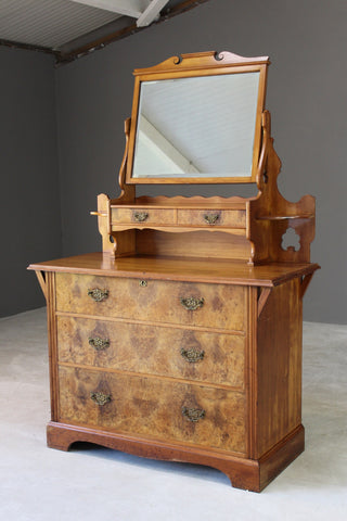 antique victorian dressing chest