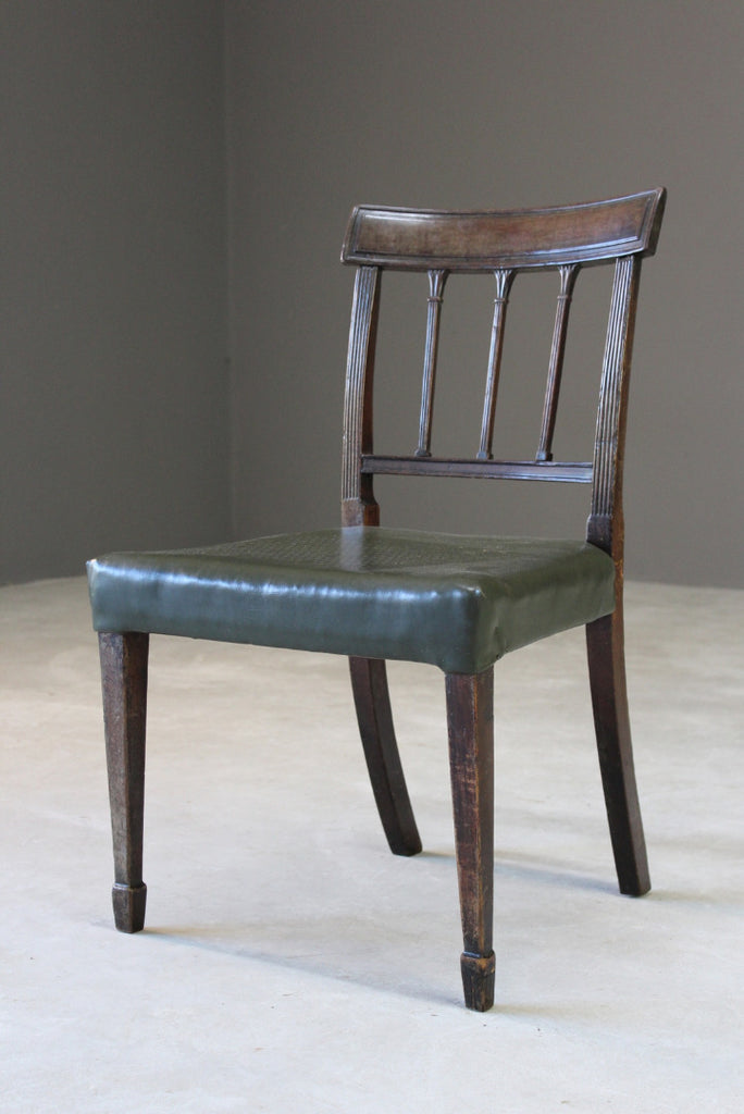 Antique Mahogany Dining Chair - Kernow Furniture