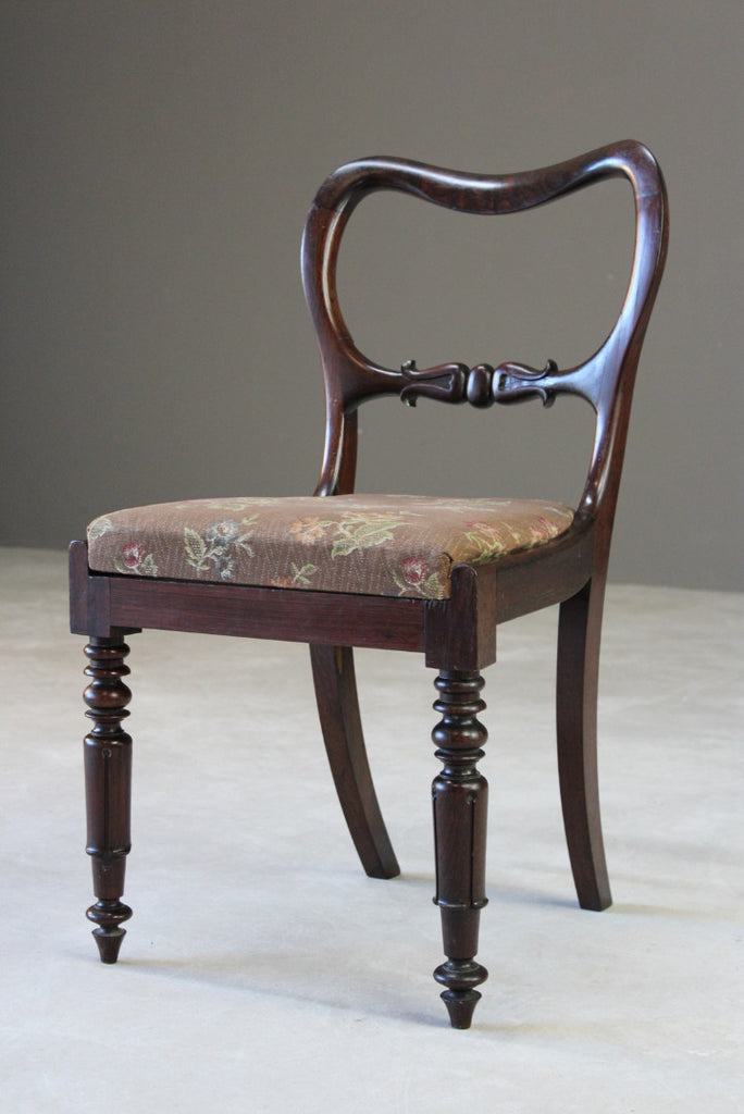 Antique Rosewood Dining Chair