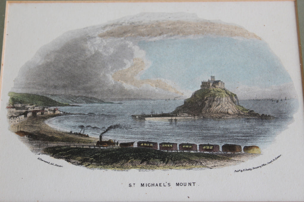 St Michaels Mount Framed Print