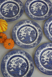 6 Willow Plates - Kernow Furniture