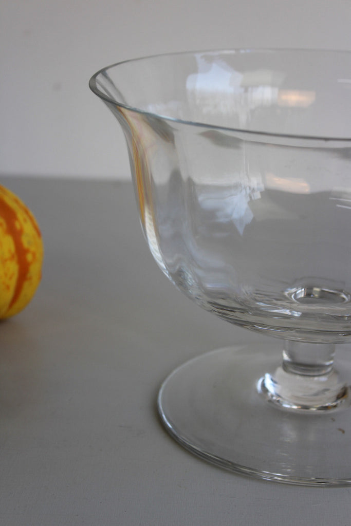 Dartington Stemmed Glass Bowl