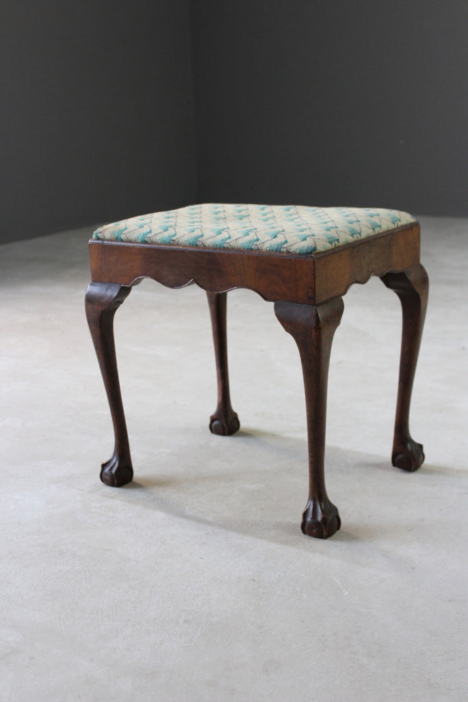 Vintage Dressing Table Stool - Kernow Furniture