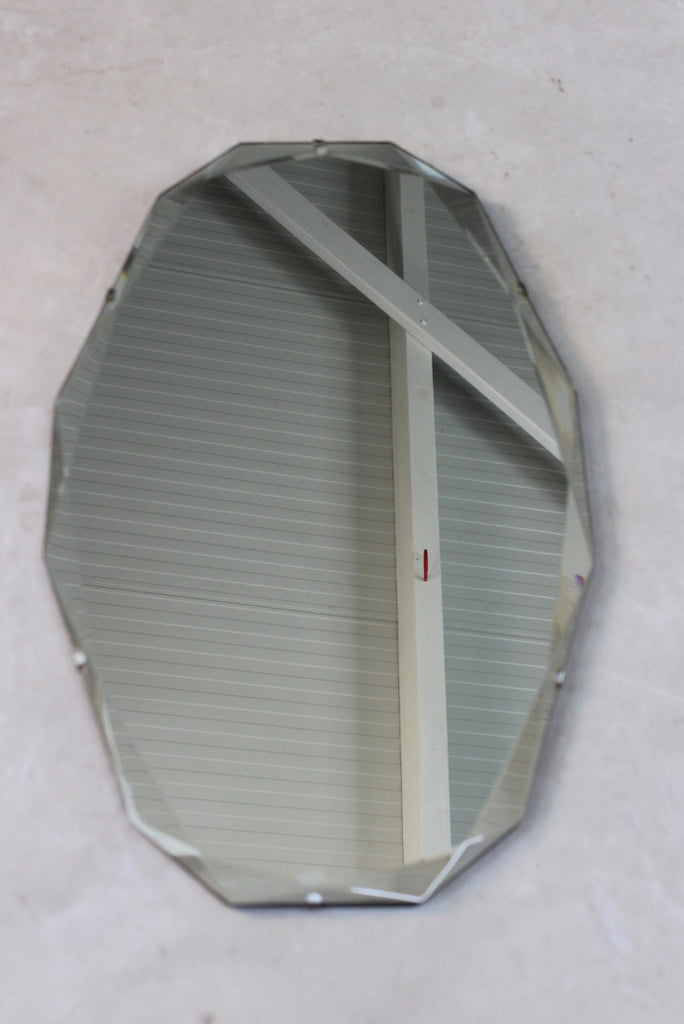 Vintage Frameless Wall Mirror