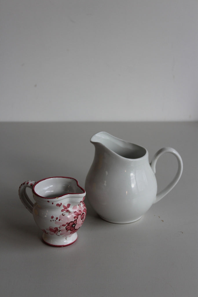 Pair Vintage Jugs - Kernow Furniture