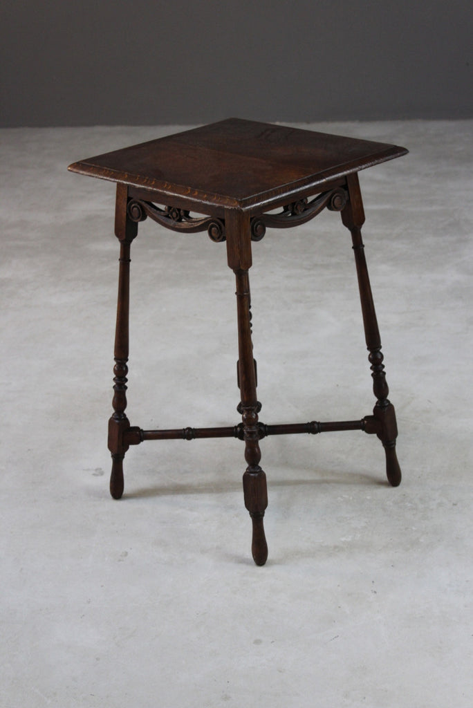 Antique Victorian Side Table - Kernow Furniture