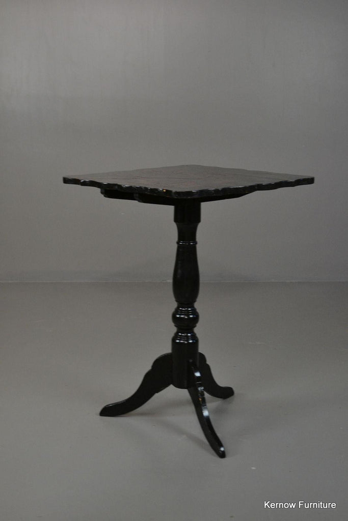 Antique Japanned Occasional Table - vintage retro and antique furniture