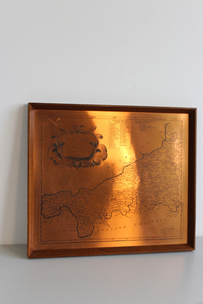 Etchmaster Copper Cornwall Map