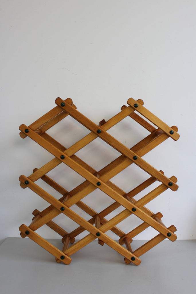 Beech Bottle Rack