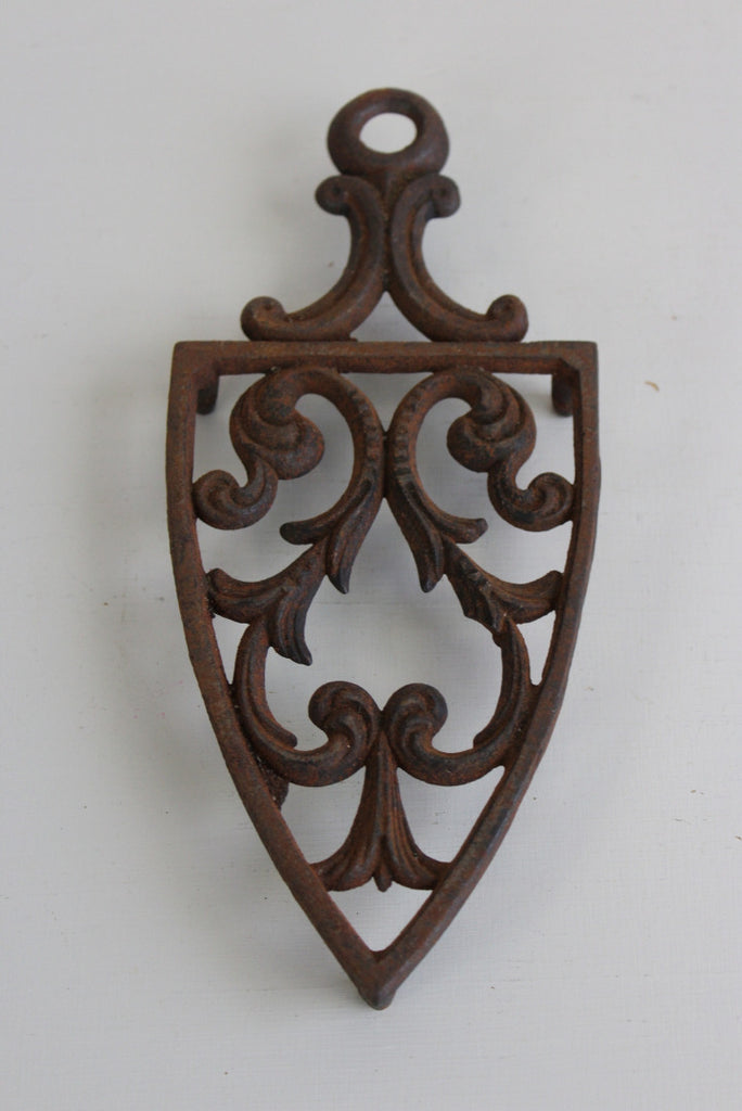 Ornate Scrolled Cast Iron Trivet