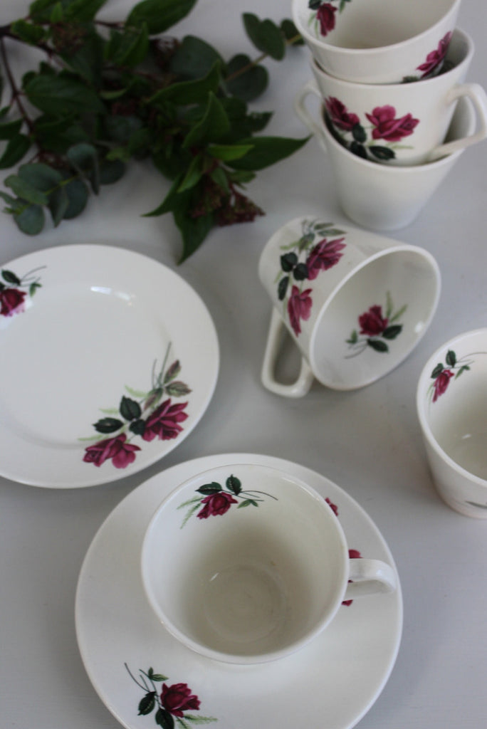 Lord Nelson Retro Cups & Saucers - Kernow Furniture